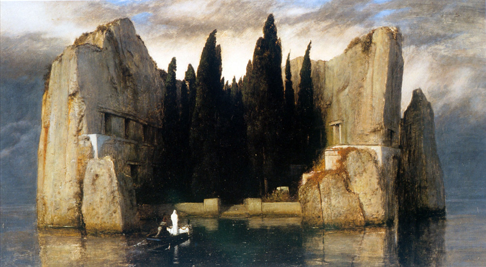 Arnold Bocklin - Isle of the Dead, 1883