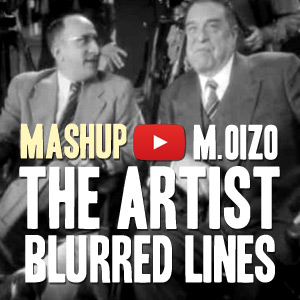 Cover Mashup The Artist / Blurred Lines / M. Oizo