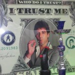 New York graphic design, Dollar Al Pacino, Who do i trust ? I trust me
