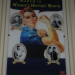 New York graphic design, Cover Women's history Month, Roosevelt Island