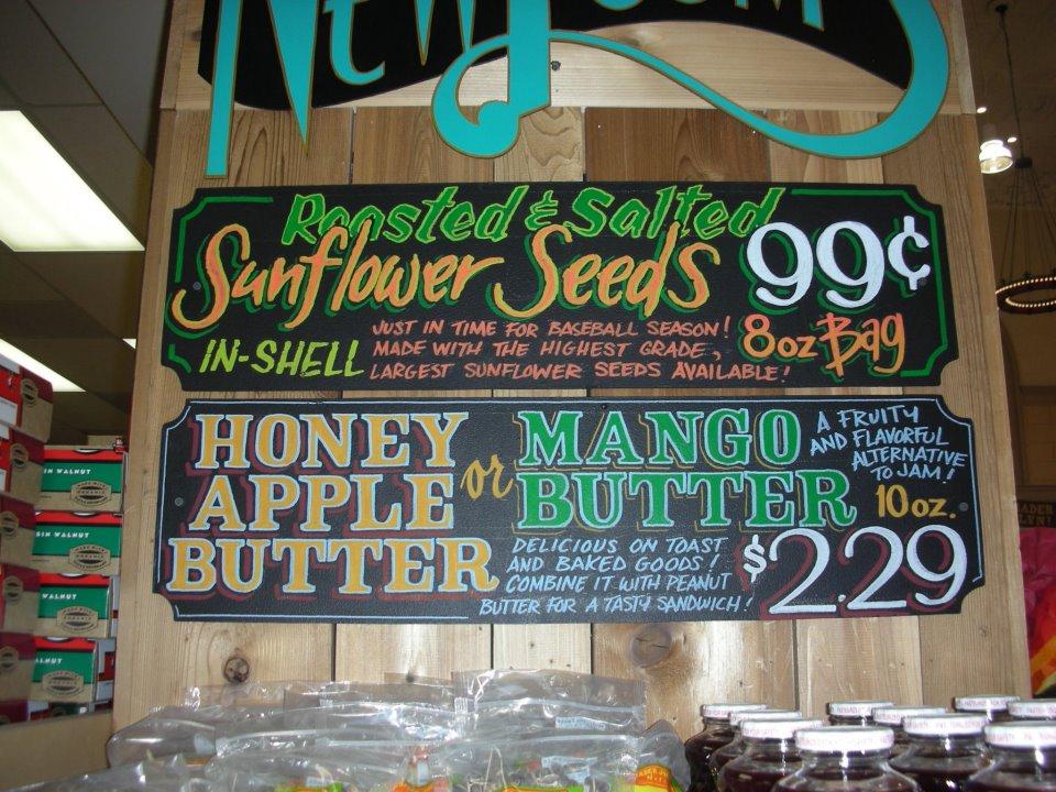 sunflower seeds and honey apple  mango butter brand market