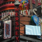 Hershey's store front at Time Square