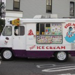 New york street food, Ice cream Truck, kool man design