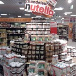 Design from Paris, Stand Nutella chandeleur Monoprix