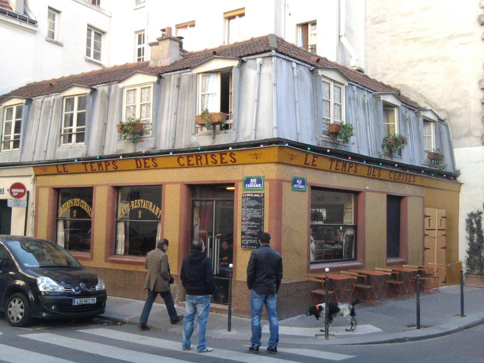 Paris Store Front, Le temps des Cerises, Le Marais, 31 Rue de la Cerisaie, 75004 Paris