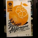 Paris Graphic Design | Affiche La Trilogie Algérienne, Rachid Akbal, Théatre de Belleville Cover