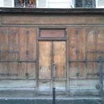 Paris Store Front, old store wood vintage, Métro Parmentier
