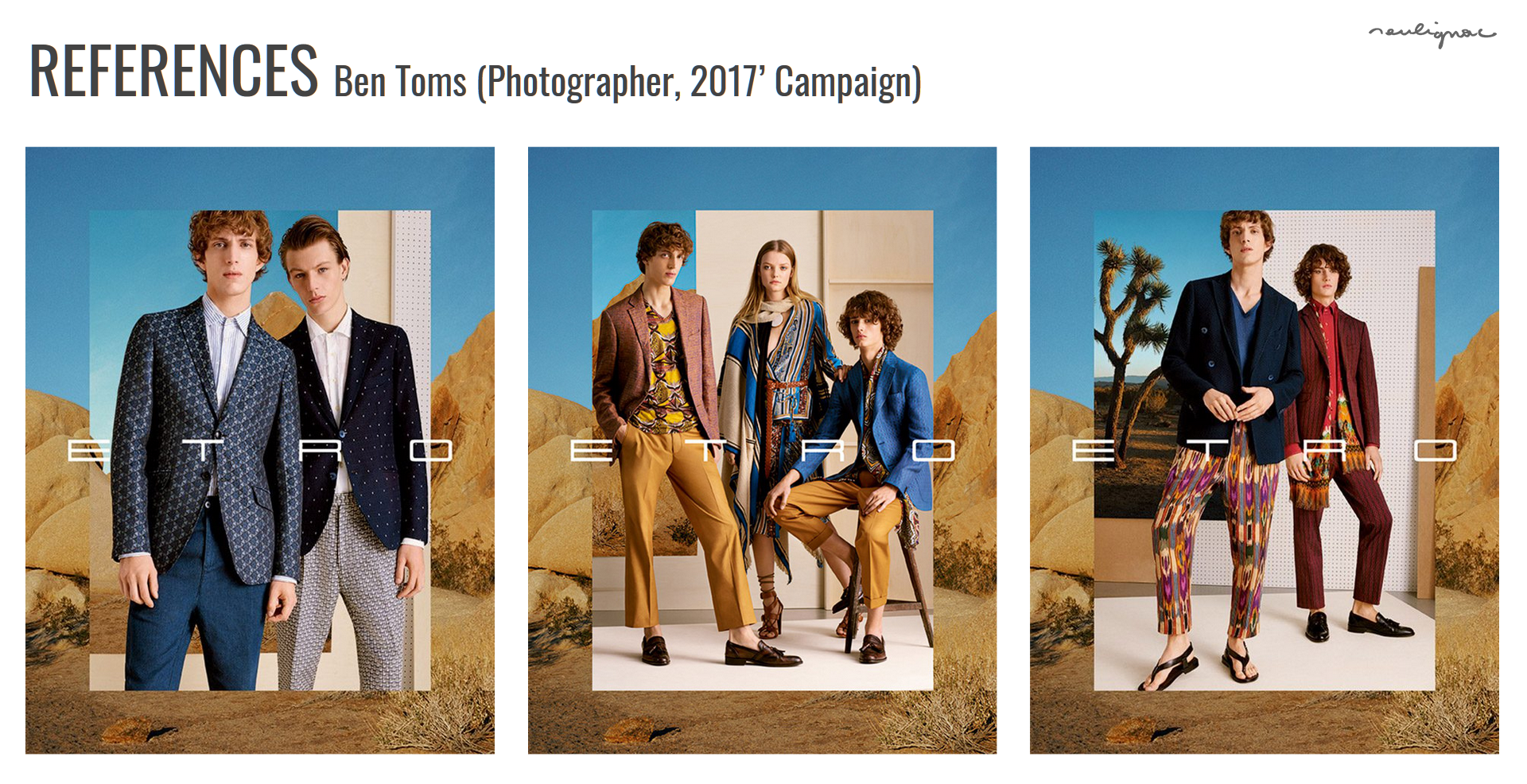 Etro China - Digital Summer Campaign, Brand exploration BEN TOMS - Francois Soulignac - Creative & Art Direction - Labbrand Madjor Shanghai, China