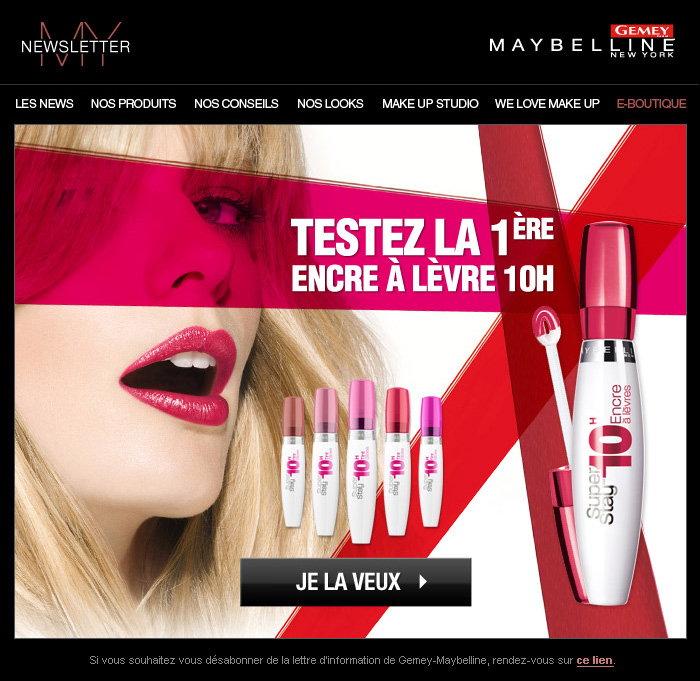 Francois Soulignac Gemey-Maybelline My Newsletter Super-Stay