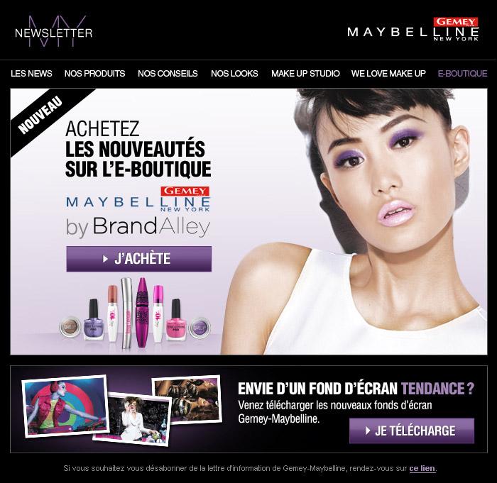 Francois Soulignac Gemey-Maybelline My Newsletter Brandalley