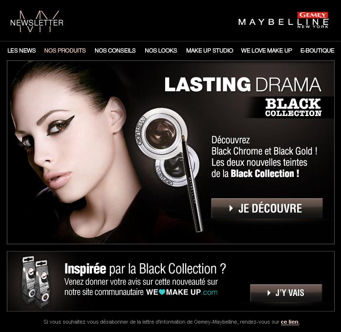 Francois Soulignac Gemey-Maybelline My Newsletter Lastingdrama