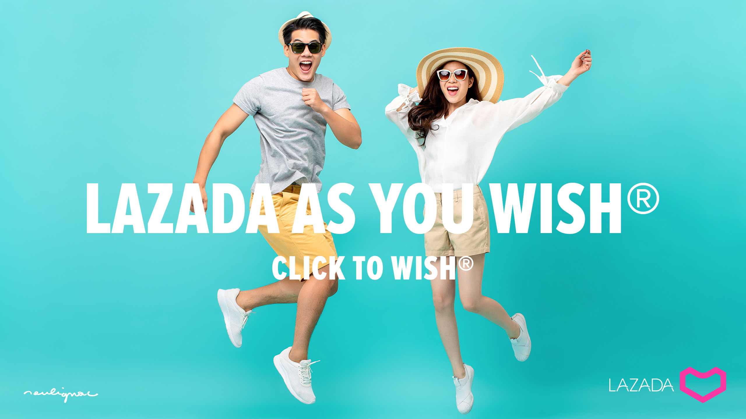 LAZADA Group - Digital Campaign - AS YOU WISH - Francois Soulignac - Digital Creative & Art Director - MADJOR Labbrand Shanghai