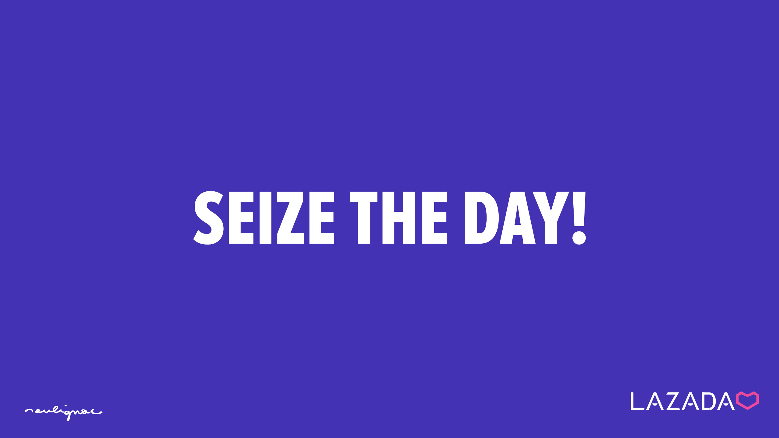 LAZADA Group - Digital Campaign - SEIZE THE DAY - Francois Soulignac - Digital Creative & Art Director - MADJOR Labbrand Shanghai
