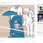 Maxi-Cosi China, Dorel Juvenile - Lila Stroller Campaign - Alternative key visual - Sketches and notes by Francois Soulignac, MADJOR Labbrand Shanghai