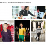 Shopify China - Social Content Creation - KOL Fashion Designer - Francois Soulignac - Digital Creative & Art Direction - MADJOR Labbrand Shanghai, China