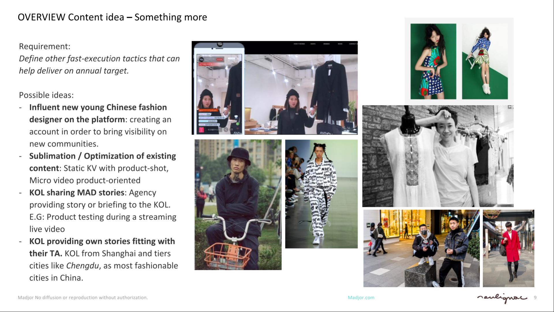 Shopify China - Social Content Creation - Content Creators - Francois Soulignac - Digital Creative & Art Direction - MADJOR Labbrand Shanghai, China
