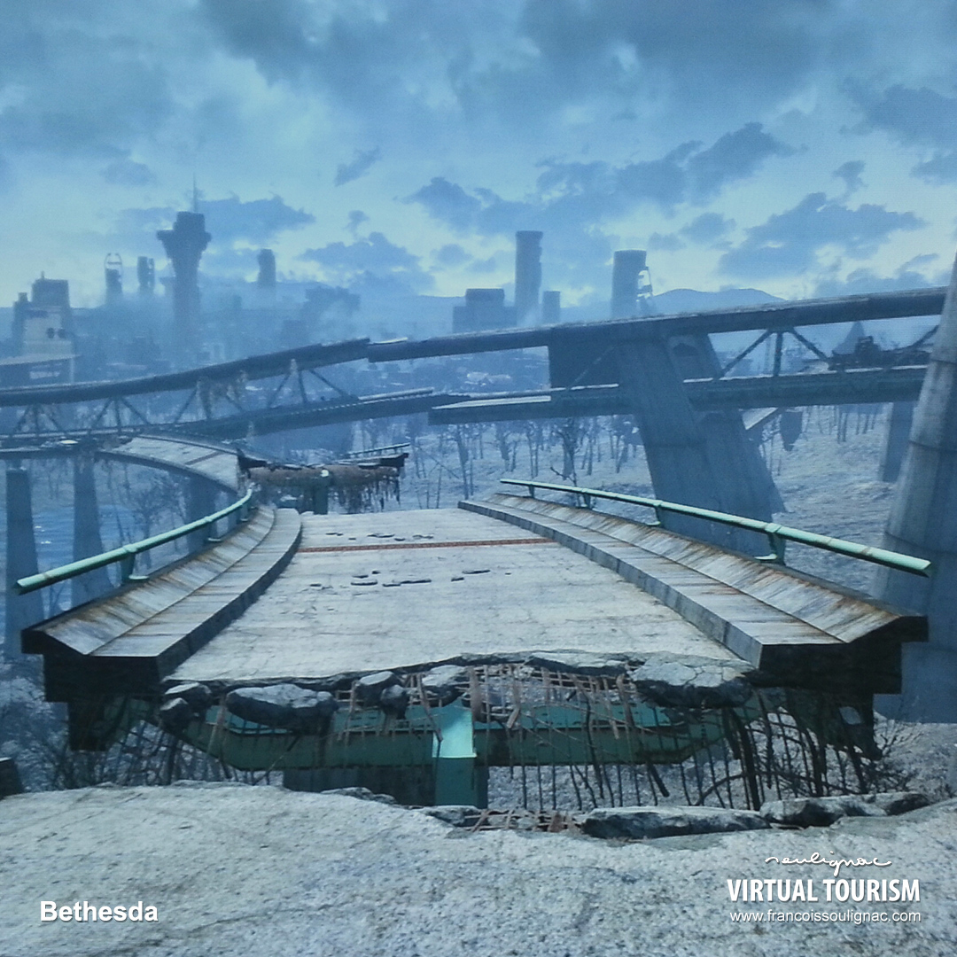 Virtual Tourism Boston, Details, In-game photography Fallout 4 - © Bethesda Softworks - François Soulignac