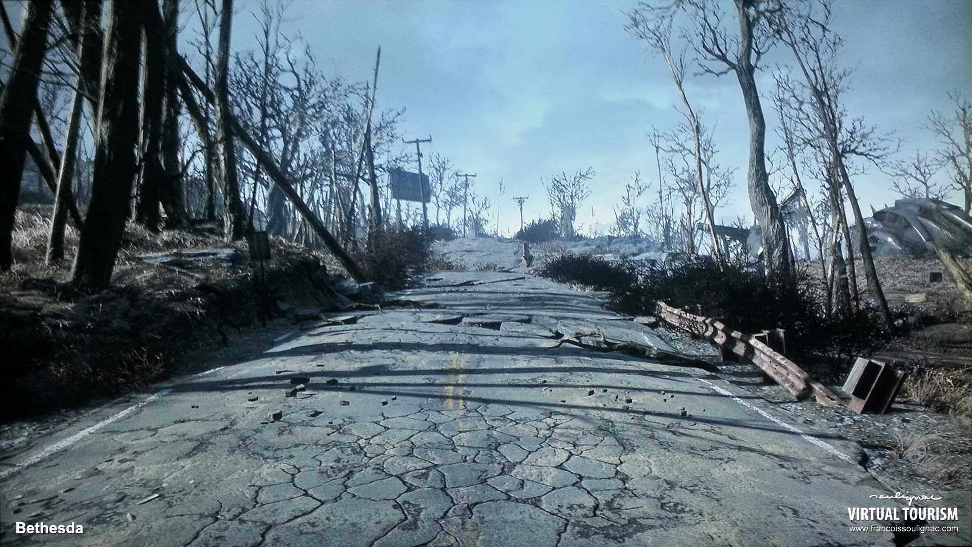 Virtual Tourism in Boston, In-game photography Fallout 4 - © Bethesda Softworks - François Soulignac