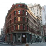 Boston Manpower Building, Franklin and Devonshire street corner