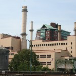 Cambridge architecture, Factory view from Longfellow bridge, Kendall station
