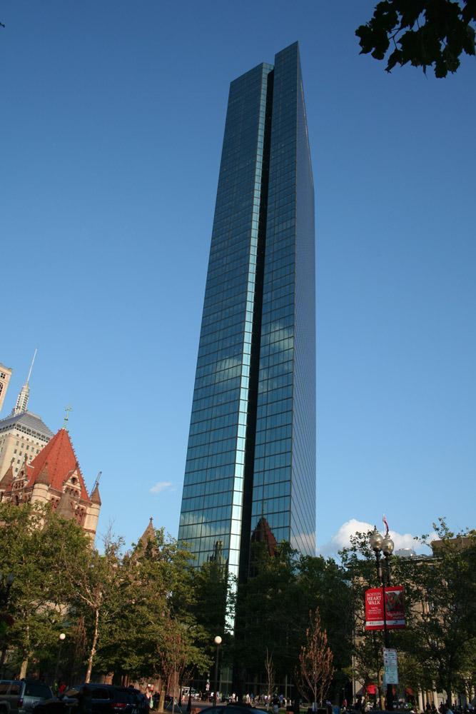 boston architecture  john hancock tower