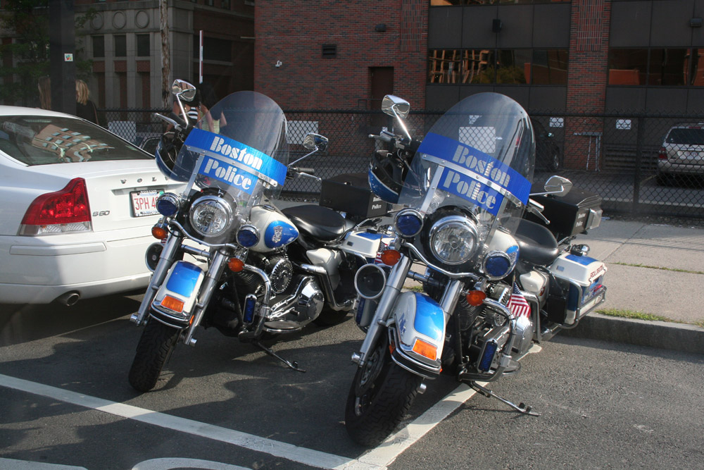 Boston Police - Motorbike