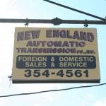 Cambridge Shop Sign - New England Automatic Transmission