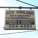 Cambridge Shop Sign - New England Automatic Transmission