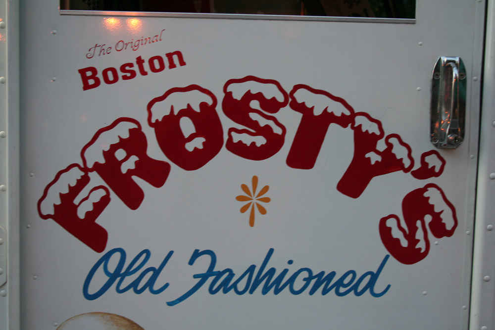 Boston Shop Sign - Frosty's Old Fashioned