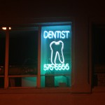 Boston Shop Sign - Dentist