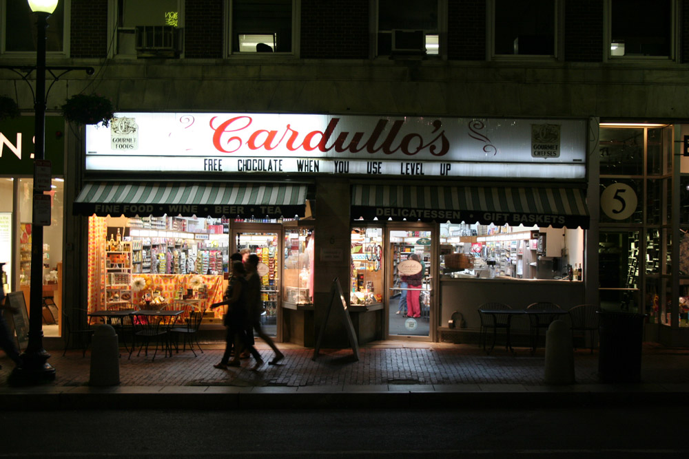 Boston Store Front - Cardullo's store front