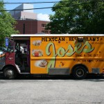 Jose's Mexican Restaurant truck Store Front, Kandall Station, Cambridge
