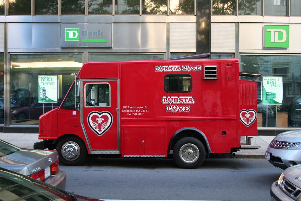 Boston Store Front - Lobsta Love Food truck