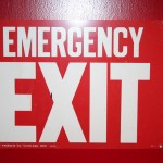 Boston Street - Elements and Specifics Details - Emergency Exit sign