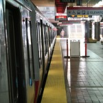 Boston Subway - MBTA red line - Alewife station
