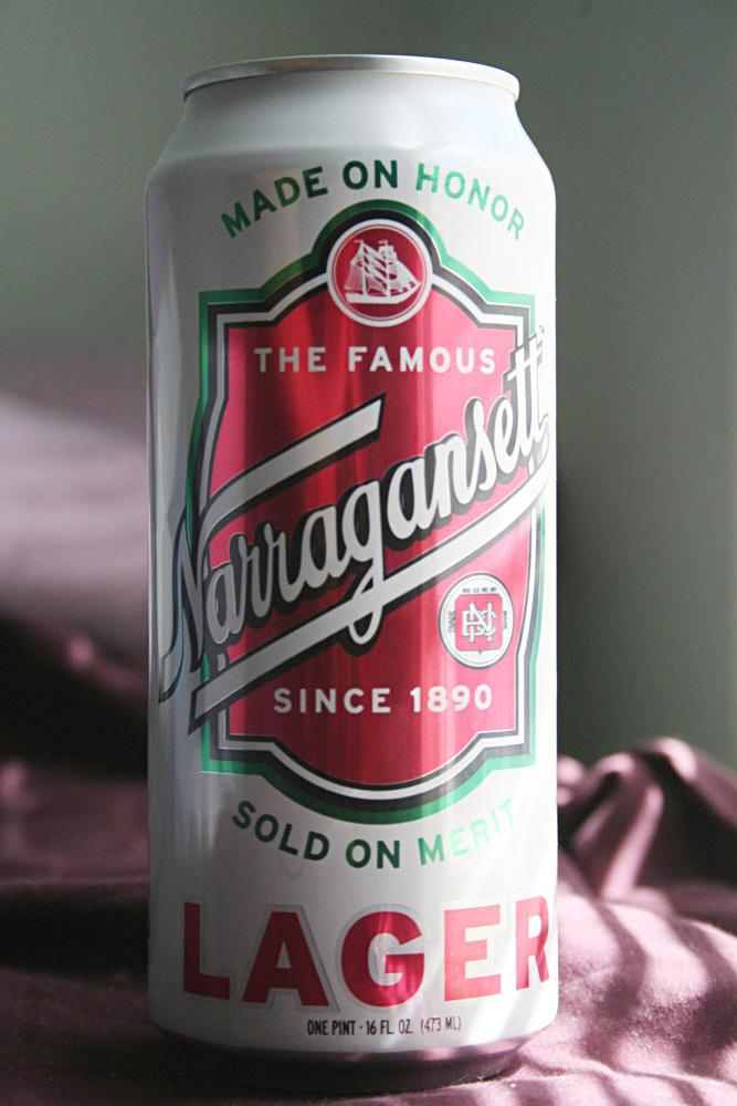 Massachusetts packaging - Narragansett beer packaging