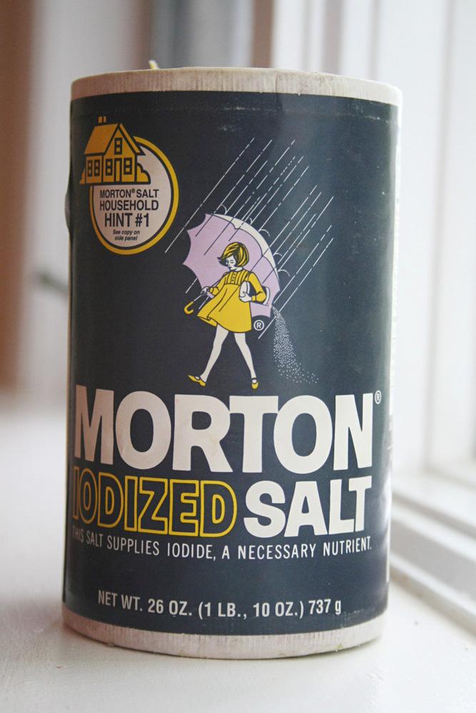 Massachusetts packaging - Morton Ionized Salt Packaging