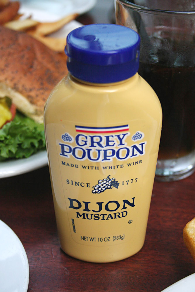 Massachusetts packaging - Grey Poupon Dijon Mustard Packaging
