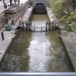 Paris Streets | Canal de l'Ourq - Écluse Metro Jaurès