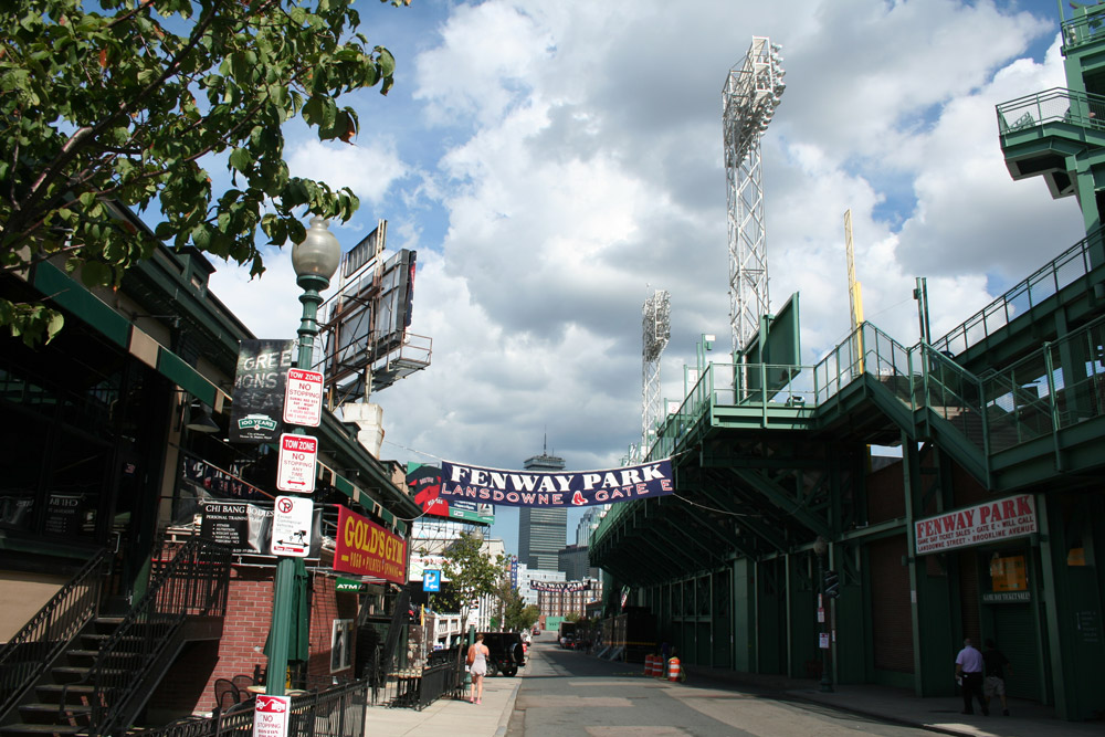 Francois Soulignac - Boston Fenway Park - Outside