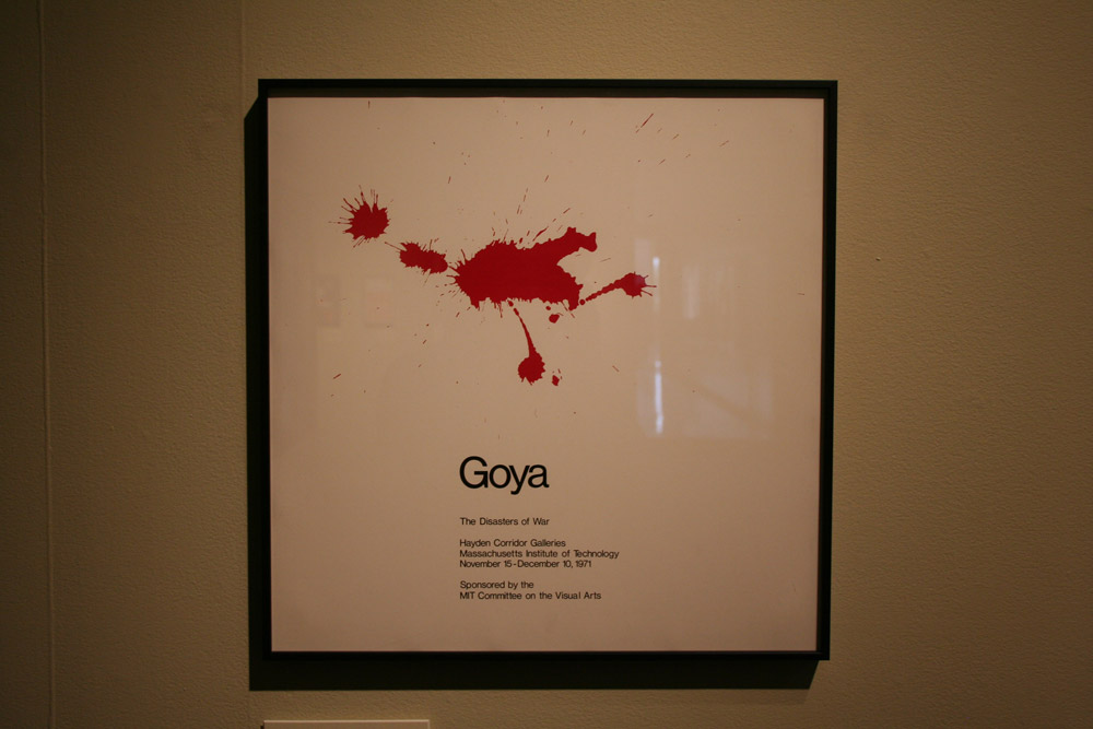Cambridge Graphic Design, Goya Cover, (c) Poster Art of Jacqueline Casey