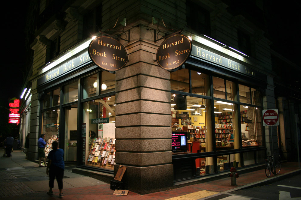 Francois Soulignac, Harvard Book store, Cambridge