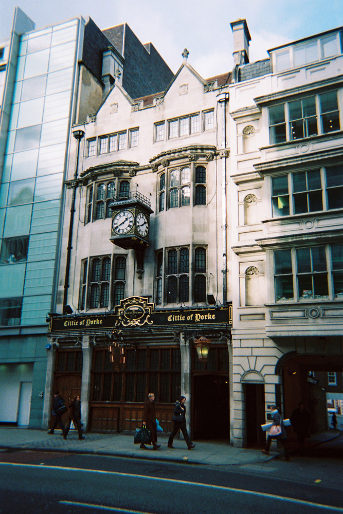 Francois Soulignac - London Store Front, Cittie of Dorke