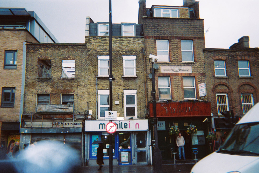 Francois Soulignac - London Old Store Front, Valiente, Bethnal Green Station