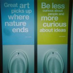 Francois Soulignac - Tate Britain restroom, Marc Chagall quotes