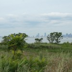 Francois Soulignac - Boston view from Lovells Island