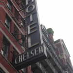 New-York Architecture - Manhattan, shop sign Chelsea Hotel