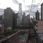New-York Architecture, Roosevelt Island by Aerial Tramway (Cable Car)