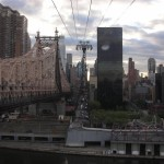 New-York Architecture, Manhattan by Aerial Tramway (Cable Car) to Roosevelt Island