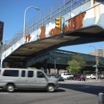 New-York Architecture, Brooklyn, Coney Island, Bridge W 8th St and Surf Ave